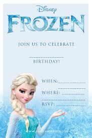 frozen invitation birthdays frozen and frozen printable printable frozen birthday invitations frozen party invitations printable