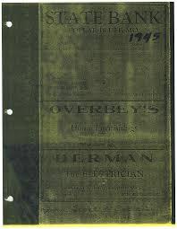1945 City Directory