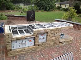 amazing backyard kitchen