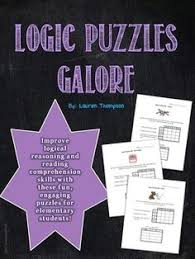 Christmas Critical Thinking Logic Puzzles   The At Home Educator     critical thinking logic puzzles jpg