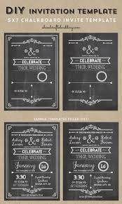 best ideas about invitation templates diy check out this printable diy chalkboard wedding invitation template via ahandcraftedwedding com invitation