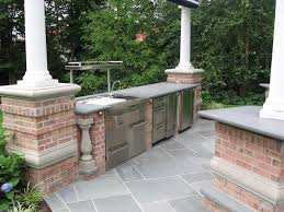 patio outdoor stone kitchen bar: stone patio bar backyard kitchen and bar amazing outdoor ideas