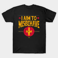 <b>I aim to Misbehave</b> - Firefly - T-Shirt | TeePublic