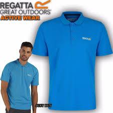 Regatta Mens T Shirt Tee Cotton Hiking Walking <b>Outdoor Summer</b> ...