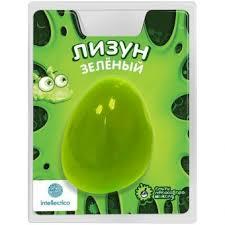 <b>Лизун</b> цветной <b>Intellectico</b>, зеленый 277604 купить доставка и ...
