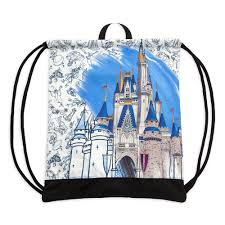 Cinderella Castle <b>Cinch Sack</b> – Disney Ink & Paint – Walt Disney ...