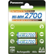 <b>Аккумулятор Panasonic AA</b> 2700mAh (BK-3HGAE/2BE), 2шт ...