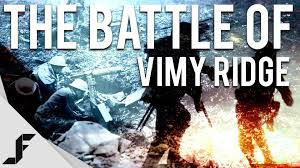 the battle of vimy ridge battlefield  the battle of vimy ridge battlefield 1
