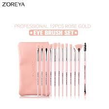Buy 12 Pieces <b>ZOREYA Makeup</b> Brush Sets for Women Soft Hair ...