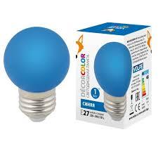 <b>Лампа</b> декоративная светодиодная (UL-00005647) <b>Volpe E27 1W</b> ...