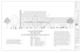 h Country Story Porch House Plan Blueprints Construction    h  country style porch house plans blueprints construction