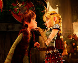 Image result for hiccup and astrid