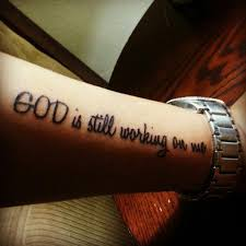 Faith Quotes Tattoos. QuotesGram via Relatably.com