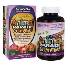 Nature's Plus <b>Source of Life Animal</b> Parade Gummies