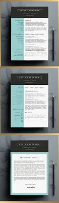 17 best images about creative resume by cvdesign stylish resume template editable in ms word by cvdesign you can us on