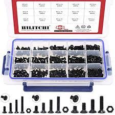 Hilitchi 460-Pcs M3 M4 M5 Hex Socket Flat Head ... - Amazon.com