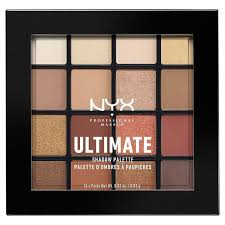 NYX Professional Makeup Ultimate Eyeshadow Palette - <b>Warm</b> ...