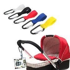 <b>1pcs Shopping Bag</b> Stroller <b>Hook</b> for Wheelchair Stroller Carabiner ...