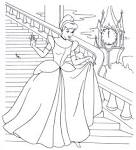 Раскраски на печать принцессы