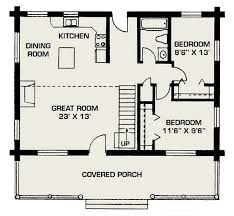 Small Log House Floor Plans Small Cottage House Plans  small cabin    Small Log House Floor Plans Small Cottage House Plans