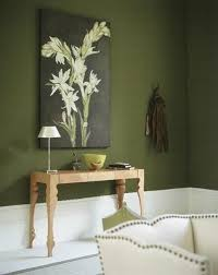 space living room olive: olive green walls would be beautiful in a dining room