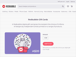 Redbubble | Gift Card Balance Check | Balance Enquiry, Links ...