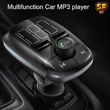 Multifunction <b>USB Car Charger</b> MP3 Music Player For <b>Bluetooth</b> FM ...