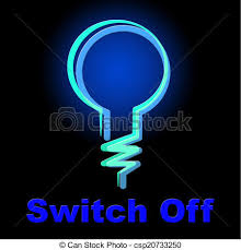 Image result for graphic light bulb off