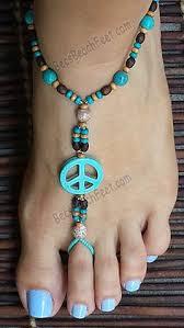 <b>Boho</b> Beach Babe   <b>beading</b>   Beach <b>foot jewelry</b>, Bare foot sandals ...