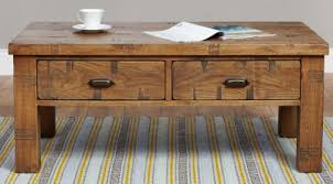 baumhaus heyford rough sawn oak coffee table 4 drawer baumhaus aston oak coffee table