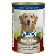 <b>Консервы Happy Dog Natur</b> Line для взрослых собак, телятина ...