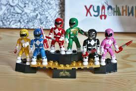 Mega Bloks Power Rangers, Collector <b>Pack</b> с 6 <b>фигурками</b>