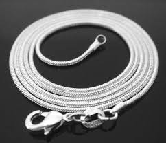 20 inch .925 sterling silver <b>1mm snake chain necklace</b> Perfect   Etsy