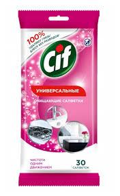 <b>Влажные салфетки Универсальные</b> Cif — купить по выгодной ...