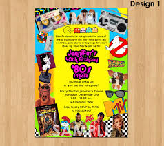 40th birthday invite 80s party invitation 80s birthday invitation printable 40th birthday party invitation 80s theme invitations 80s birthday party invite