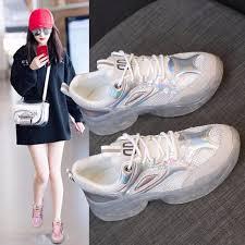 <b>Fujin Sneakers Women</b> Dad Shoes Sequins Spring <b>Sneakers</b> ...
