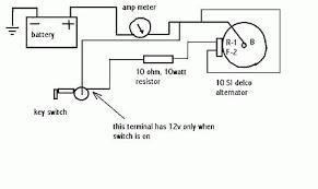 3 wire delco alternator wiring diagram wiring diagram schematics alternator hook up on wd allischalmers forum