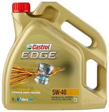 <b>Моторное масло Castrol Edge</b> 5W-40 4 л — купить по выгодной ...
