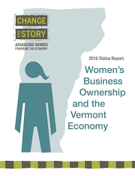 status report women s business ownership and the vermont economy