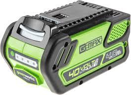 <b>Литий</b>-<b>ионная аккумуляторная батарея Greenworks</b>, 40V, 4А/ч ...