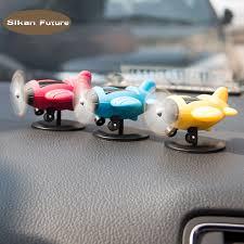 Car Ornament Mini PVC Aircraft <b>Model</b> Automobiles Interior ...