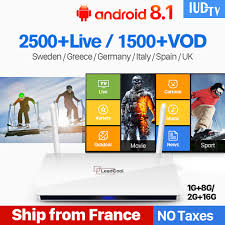 <b>IPTV Europe</b> TV Receiver <b>Android</b> 8.1 Rk3229 Quad Core TV <b>Box</b> ...