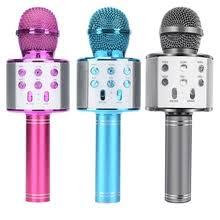 wireless bluetooth <b>karaoke</b> microphone <b>handheld ktv</b> home mic ...