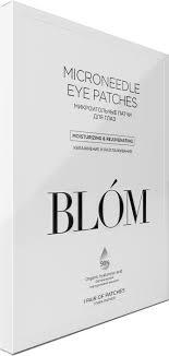 Купить <b>Микроигольные патчи для</b> глаз 1 пара Blom Патчи: цена и ...