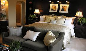 luxurious master bedroom decorating