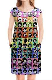 Платье без рукавов Homrstuck <b>gender</b>-<b>bender</b> #1546620 от gamzee