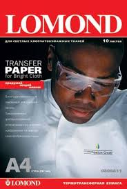 <b>Термотрансферная бумага</b> LOMOND Transfer Paper for bright ...