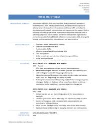 resume examples hospitality resume examples front desk hotel resume examples how to write a hotel front desk resume online resume builders hospitality resume examples