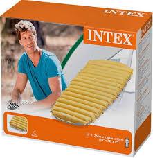 <b>Матрас надувной Intex Cot</b> Size Camp Bed 68708 купить в ...