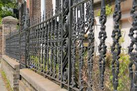 Small Picture 32 Elegant Wrought Iron Fence Ideas and Designs